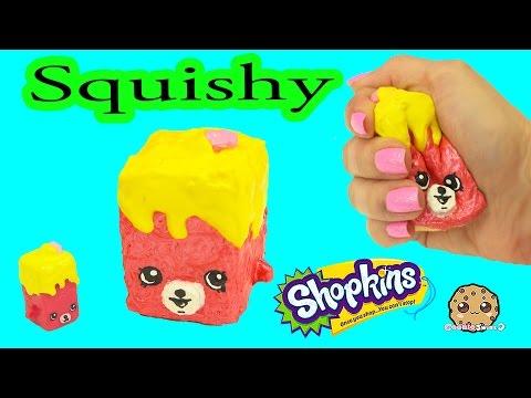 DIY Squishy Shopkins Season 5 Petkins Inspired Craft Do It Yourself - CookieSwirlC Video - UCelMeixAOTs2OQAAi9wU8-g
