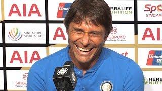 Man Utd 1-0 Inter Milan - Antonio Conte Post Match Press Conference - International Champions Cup
