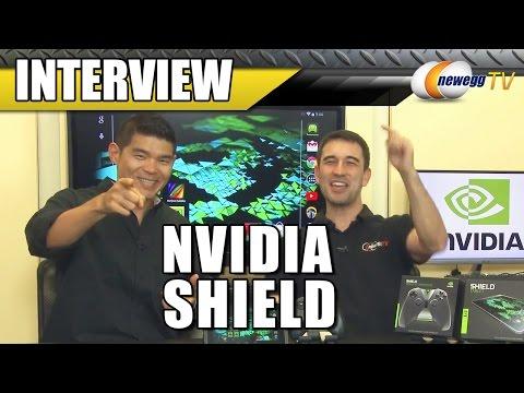 NVIDIA SHIELD Tablet Interview - Newegg TV - UCJ1rSlahM7TYWGxEscL0g7Q