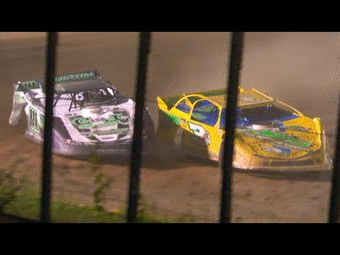 RUSH Crate Late Model Feature | Eriez Speedway | 7-4-21 - dirt track racing video image
