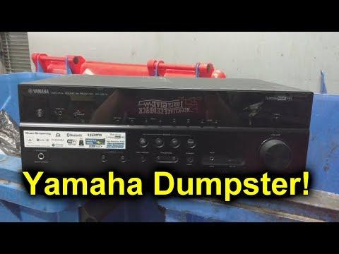 EEVblog #1151 - Dumpster Dive Yamaha Receiver - UC2DjFE7Xf11URZqWBigcVOQ