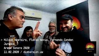WIlson Negreira, Flavia Novoa y Fernando Condon: jurados de Arena Sonora 2020 (11.02.2020)