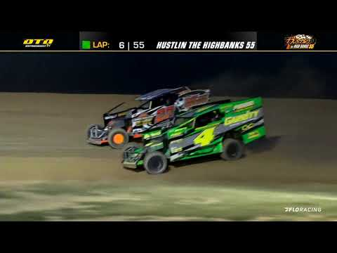 Short Track Super Series (8/10/21) at Woodhull Raceway - dirt track racing video image