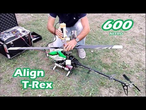 Elicottero RC | Align T-Rex 600 nitro | Prova accensione e volo dopo restauro completo! - UC0LxbHrSjuqKC5FxTmGFQpg