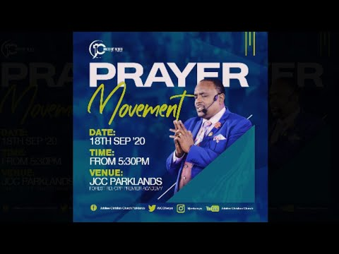 Jubilee Christian Church Parklands -Prayer Movement -18th Sep 2020  Paybill No: 545700 - A/c: JCC