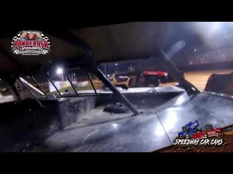 #0 Bryant Woodcock - Crate Late Model - 8-6-21 Ponderosa Speedway - In-Car Camera - dirt track racing video image