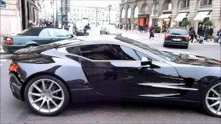 Aston Martin One-77 engine, acceleration sound & other Aston