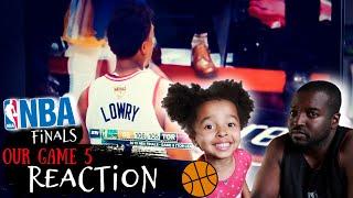 RAPTORS FANS REACT TO NBA FINALS! (LIVE REACTION)