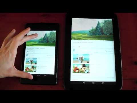 Nexus 7 (2013) vs Nexus 10  - Speed / Screen Comparison - UCB4dWKbwgl3U3ohBmrT7k3w