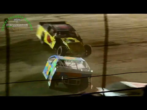 Desert Thunder Raceway IMCA Northern SportMod Main Event 9/25/20 - dirt track racing video image