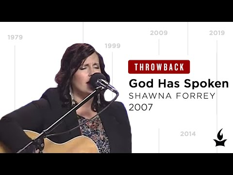 God Has Spoken -- The Prayer Room Live Throwback Moment