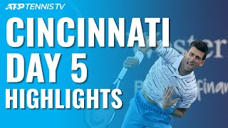 Djokovic Sets Medvedev Clash ; Gasquet To Face Goffin   Cincinnati 2019 Quarter-Final Highlights