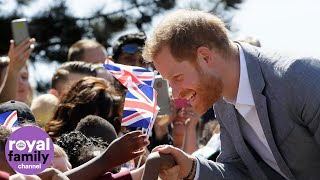 Prince Harry reopens Barton Neighbourhood Centre in Oxford