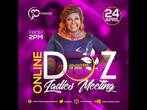 Jesus is Lord - Rev Kathy Kiuna  DOZ Monthly Ladies Meeting  April Edition (24th April 2021).