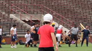 Chippewa Valley 2021 CB/WR Quillen Howze highlights from Hamtramck 7on7 tournament