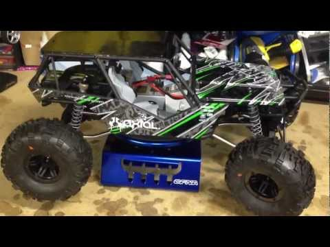 The RCNetwork - Axial Wraith - stage 2 upgrades installed - UCSc5QwDdWvPL-j0juK06pQw