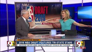 Former Cincinnati high school stars Jaxson Hayes and Darius Bazley could be first-round NBA picks