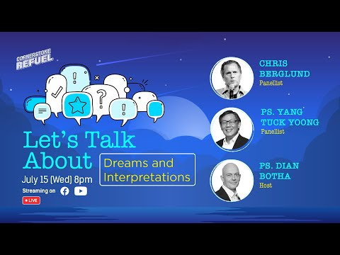 Let's Talk About Dreams and Interpretations  Trailer  Cornerstone Community Church  CSCC Online
