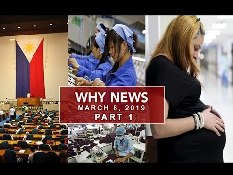 UNTV: Why News (March 8, 2019) PART 1