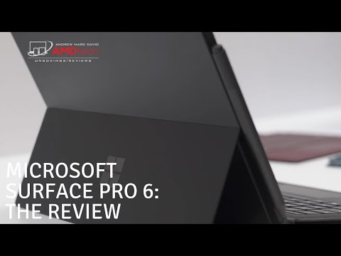 Microsoft Surface Pro 6: The Review - UCqh8w-GY6v0vgwIn_iWt87A