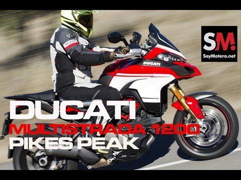 Ducati Multistrada 1200 Pikes Peak 2017: Prueba Moto Maxi Trail  [FULLHD]