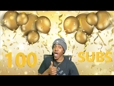100 SUBCRIBERS!!!!!!!!!!!!!!!!!!! THIS IS ONLY THE BEGINNING