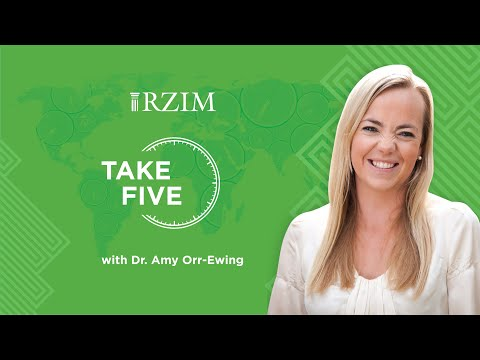 Jesus' Final Words Echo Down the Ages (Good Friday)  Dr. Amy Orr-Ewing  TAKE FIVE  RZIM