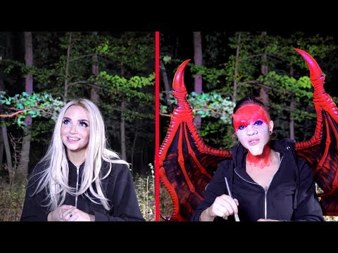 HAUNTED FOREST : I Did My Halloween Makeup In the Pine Barrens - UCoziFm3M4sHDq1kkx0UwtRw