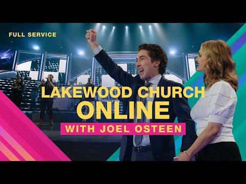 LIVE Joel Osteen  Lakewood Church  Sunday Service 11am