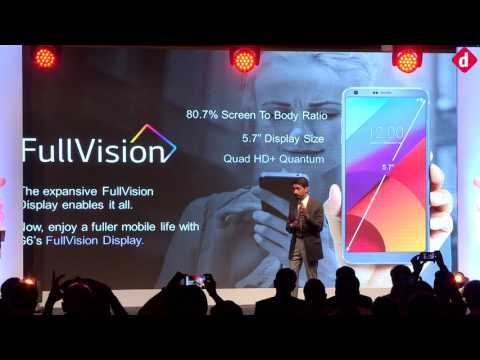 LG G6 India Launch Event Full HD Recording | Digit.in