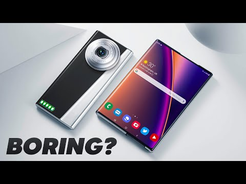 """Smartphones are Boring now."""
