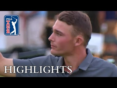 Aaron Wise Round 4 Highlights at AT&T Byron Nelson