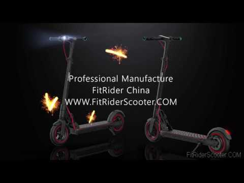 FitRider T2 Model 8.5 inch Electric Scooter with Swappable Battery design / FitRider China