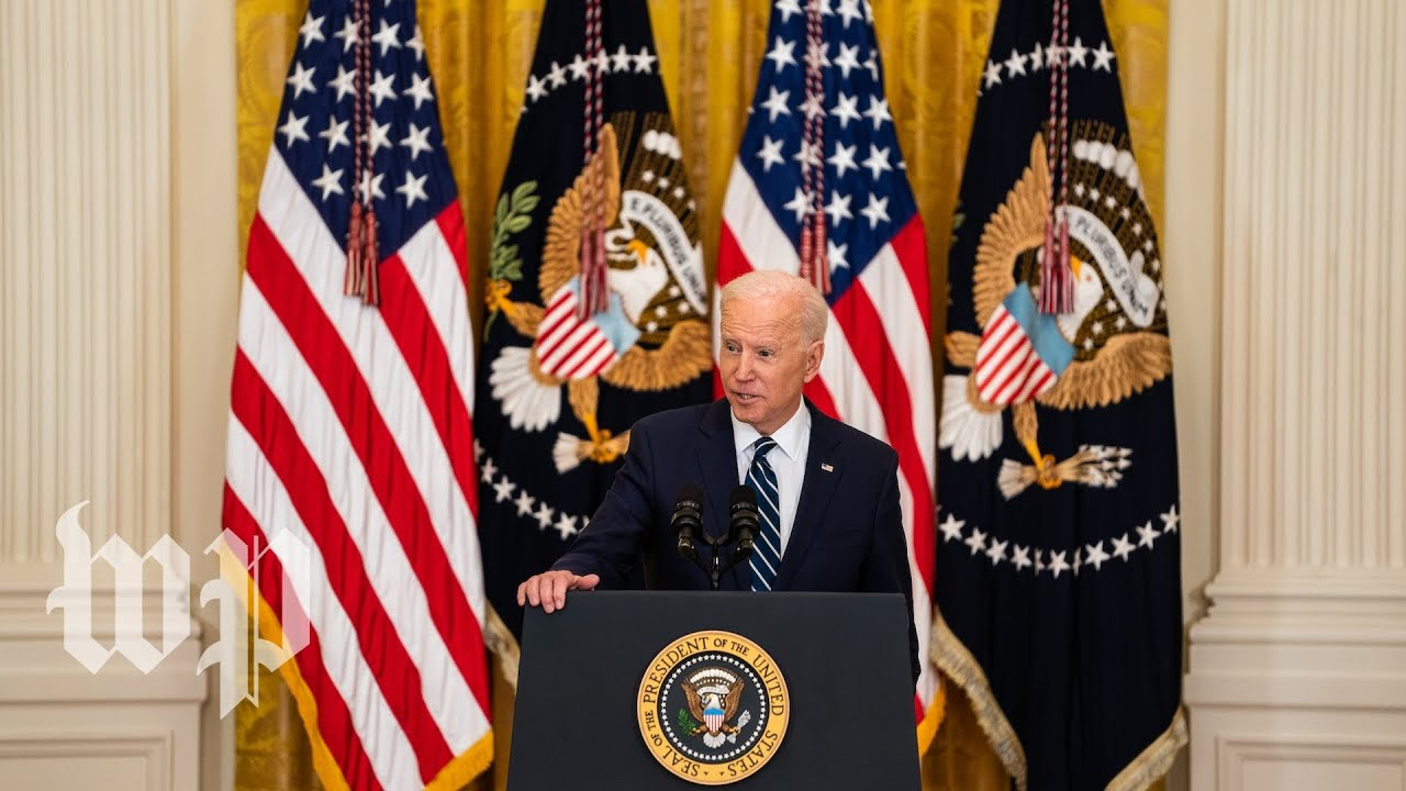 Biden's first formal news conference, in 3.5 minutes