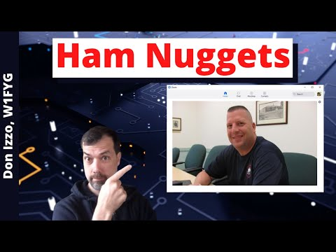 #85 Ham Nuggets Live! With Don Izzo, W1FYG