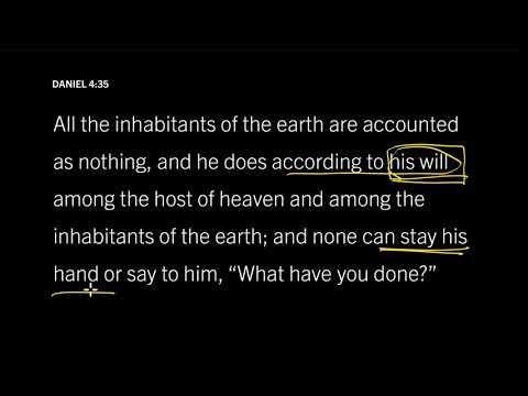 James 4:1316 // Is God Sovereign over Evil?