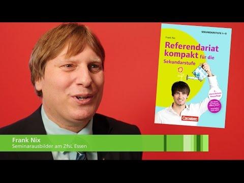 Referendariat kompakt: Interview mit Frank Nix, Seminarausbilder am ZfsL Essen und Buchautor