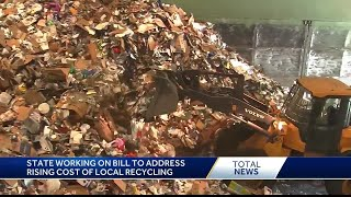 State working on bill to address rising recycling costs