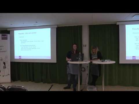 Seminarium: Barns röster om jämställdhet - 2017-03-07