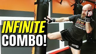 Striking Combos and Drills | Chaining Punches into Kicks and Kicks Back Into Punches | Training Tips