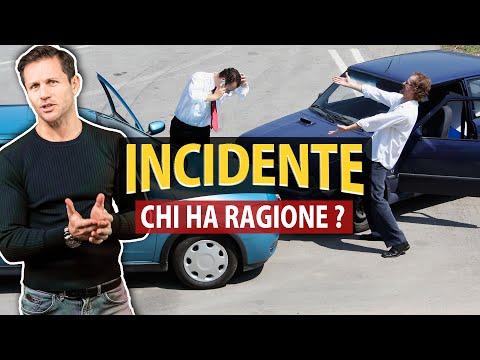 INCIDENTE STRADALE: la regola cardine per capire CHI HA RAGIONE   Avv. Angelo Greco