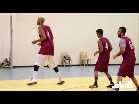 استعدادات النادي الأهلي للنهائي الثاني من بطولة كاس السوبر لكرة السلة