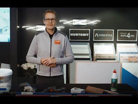 Forestia Premium Ceiling ved produktsjef Christian Sørlie  2021