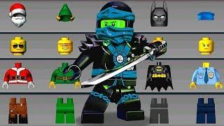LEGO NINJAGO Build Helicopter, New Ninjago Cars - LEGO Juniors Create & Cruise