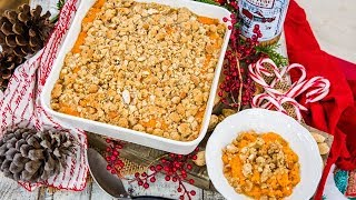 Andrew Walker Sweet Potato Casserole with Maple Crumble - Home & Family