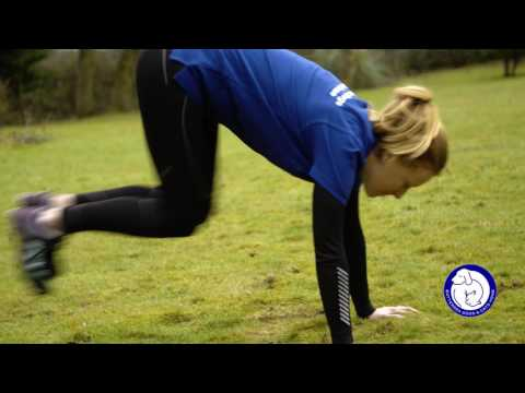 Burpees - Muddy Dog Challenge training exercises