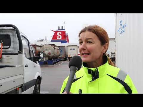 Elanslutning av fartyg i Göteborgs hamn