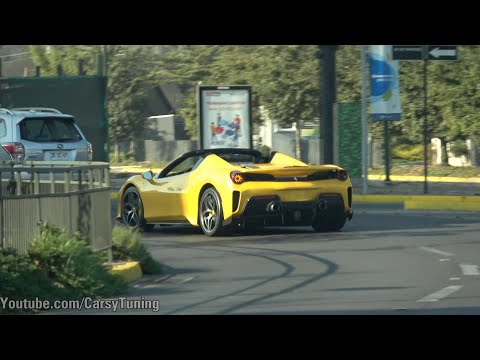 Supercars en Santiago Chile Vol 69: 488 Pista Spider, 900 HP Turbo S, Brabus 760, Alpina B10 y mas!