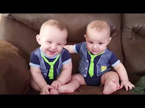 Best Videos Of Cute and Funny Twin Babies Compilation   Twins Baby Videos