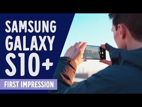 Samsung Galaxy S10, S10+ & S10e - Ensivaikutelmat